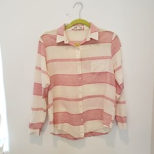 Anthropology Lili's Closet Striped Buttondown